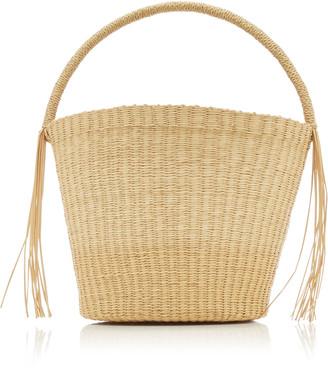 Sensi Salinas Straw Handbag