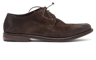 Marsèll Listolo Suede Derby Shoes - Dark Brown