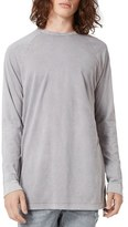 Topman Men's Longline Crewneck T-Shirt