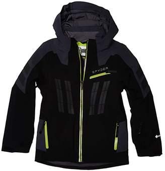 Spyder Monterosa Gore-Tex Ski Jacket (Big Kids) (Black Ebony) Boy's Clothing