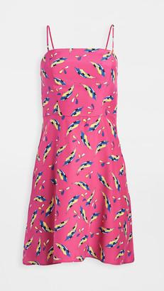 HVN Mini Nora Bias Dress