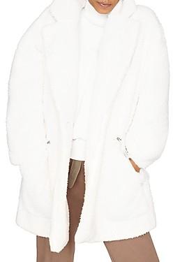 b new york Recycled Teddy Coat