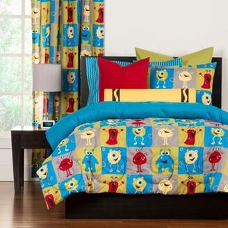 Crayola Monster FriendsTwin Comforter Set