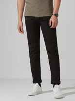 Frank + Oak The Lincoln Twill Pant in True Black
