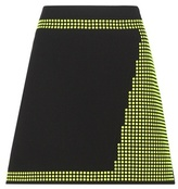 Christopher Kane Embellished virgin wool miniskirt