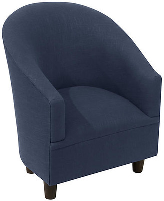 One Kings Lane Ashlee Kids' Chair - Navy