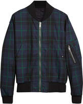 Burberry reversible bomber jacket