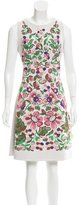 Valentino 2016 Floral Intarsia Dress