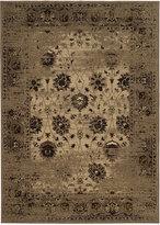 "Kenneth Mink Spectrum Mod Isfahan Taupe 5'3"" x 7'6"" Area Rug"