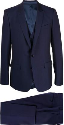 Dolce & Gabbana three-piece Martini-fit suit
