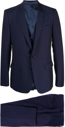 Dolce & Gabbana three-piece Martini-fit suit