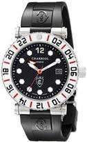 Charriol Rotonde GMT Men's Dial White Bezel 2nd time Zone Watch RT42GMTW.142.G01