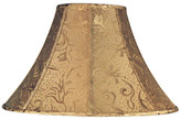 Empire Lamp Shade in Soft Gold