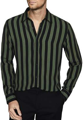 Reiss Kase Striped Slim Fit Shirt