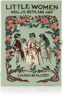 Olympia Le-Tan M'O Exclusive Little Women Book Clutch