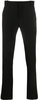 Balmain Sequinned Side Panel Trousers