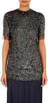 Nina Ricci Women's Sequined T-Shirt-BLACK, GREY