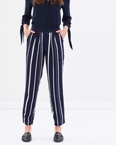 Wallis Variated Stripe Trousers