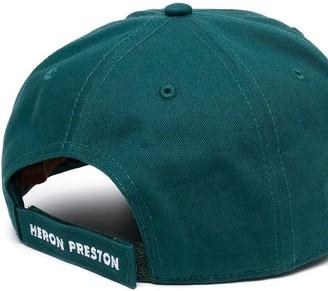 Heron Preston CTNMB Halo Baseball Cap Petrol White