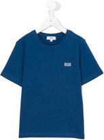 Boss Kids - logo print T-shirt - kids - Cotton - 4 yrs