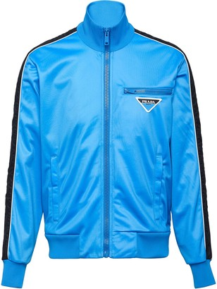Prada Runproof technical fleece jacket