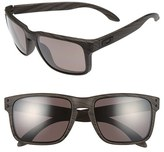 Oakley Men's 'Holbrook' 55Mm Polarized Sunglasses - Brown