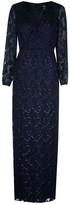 Lauren Ralph Lauren Occasion Annaliese Long Sleeve Dress