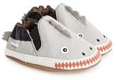 Robeez 'Dino Dan' Crib Shoe (Baby & Walker)