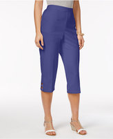 Alfred Dunner Reel It In Pull-On Capri Pants