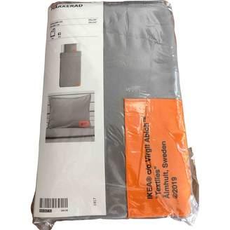 Ikea Virgil Abloh X Grey Cotton Textiles
