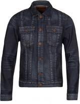 True Religion Jimmy Dark Indigo Classic Denim Jacket