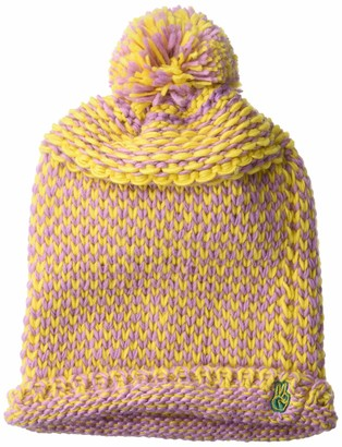 Neff Women's Cozy Heavy Knit Pom Beanie