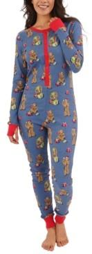 Munki Munki Women's Star Wars Chewbacca Unionsuit Pajamas