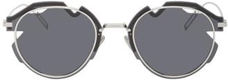 Christian Dior Silver DiorBreaker Sunglasses