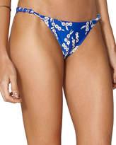 Vix Berries Knotted Rope Bikini Swim Bottom