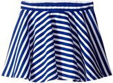 Polo Ralph Lauren Ponte Stripe Skirt (Little Kids)