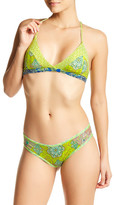 Maaji Sublime Rhyme T-Back Reversible Padded Bikini Top