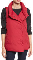 Eileen Fisher Weather-Resistant Down Puffer Vest, Petite