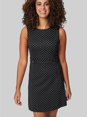 M&Co Izabel polka dot shift dress