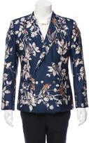 Dolce & Gabbana Spring/Summer 2016 Hummingbird Silk Blazer