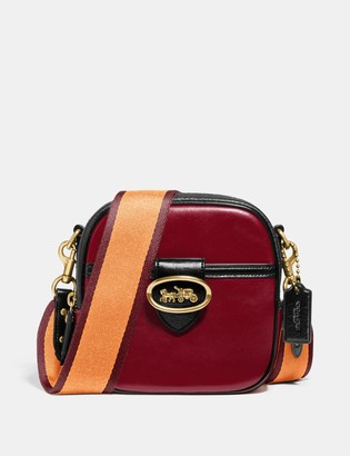 Coach Kat Camera Bag In Colorblock