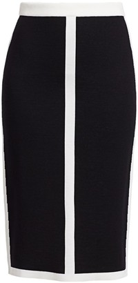 Escada Rajona Double Knit Contrast Trim