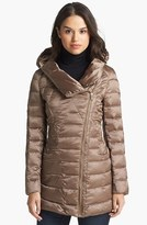 Bebe Hooded Down & Feather Jacket