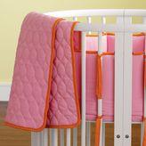 Pixel Organics Bassinet Bedding (pink/orange)