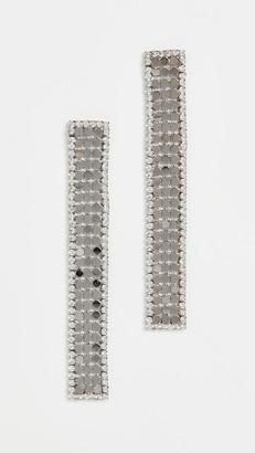 Theia Nora Linear Drop Earrings