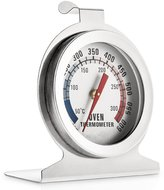 Westonetek Stainless Steel Dial Oven Thermometer Grill Temperature Gauge For Home Kitchen Food Meat - Hang or Stand in Oven