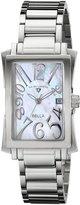 Swiss Legend Women's 40034-22 Bella Analog Display Swiss Quartz Silver Watch
