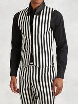 John Varvatos Wool Barstripe Vest
