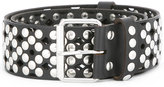 Faith Connexion studded allover belt - women - Brass/Calf Leather - One Size