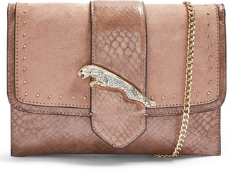Topshop Convertible Faux Leather Clutch